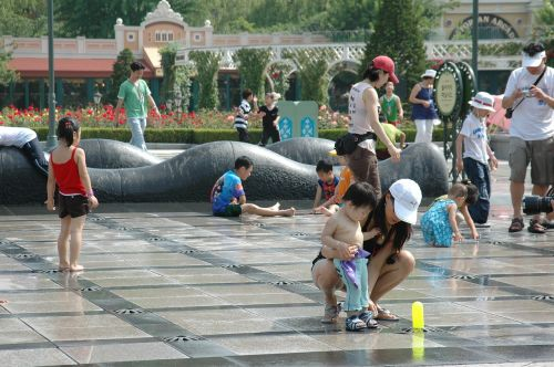everland fountain children