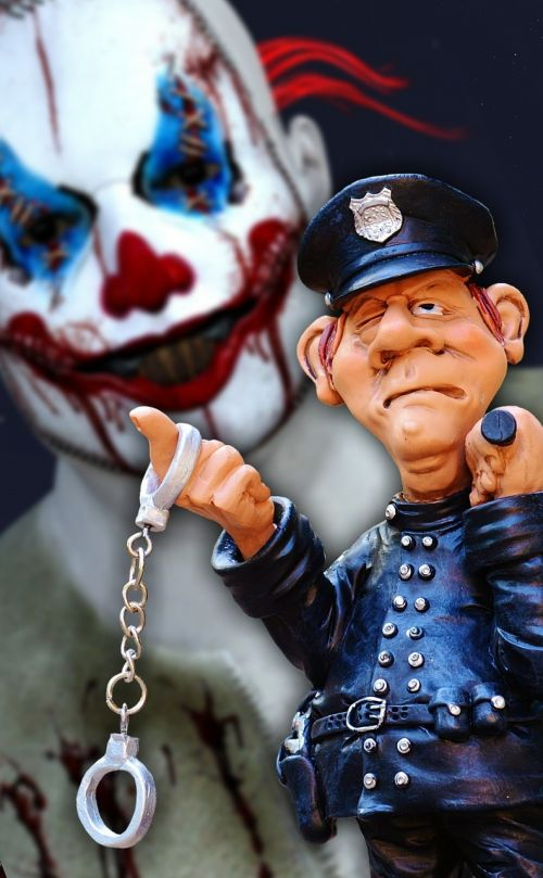 evil clowns trend terrible