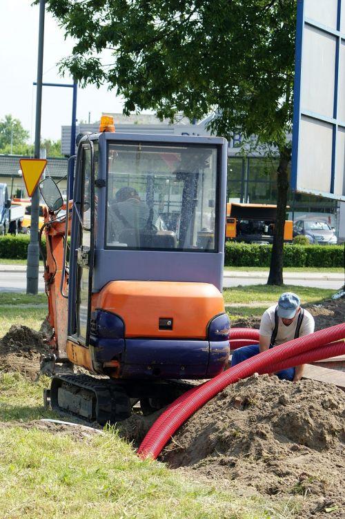 excavator small czerpaczka