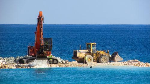 excavator bulldozer vehicle