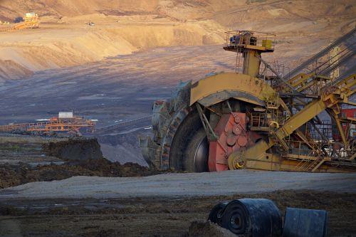 excavator wheel extraction