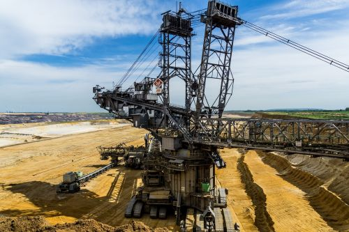 excavators bucket wheel excavators open pit mining