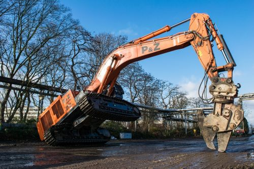 excavators monster construction machine