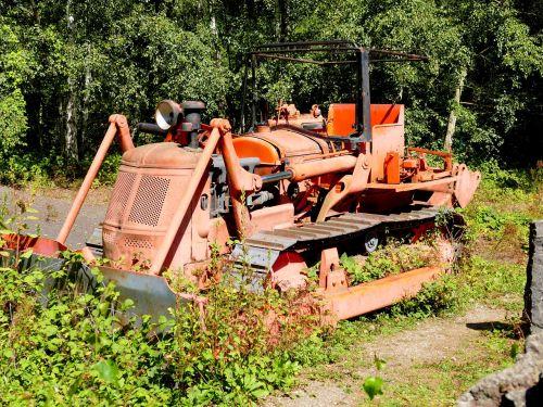excavators oldtimer old