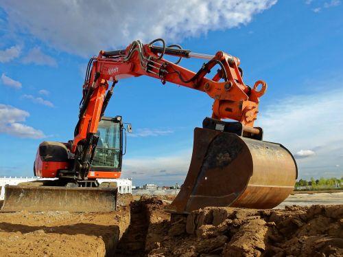 excavators machine construction machine