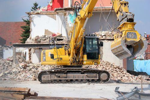 excavators demolition construction vehicle