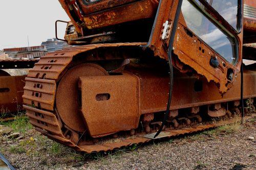 excavators chain drive