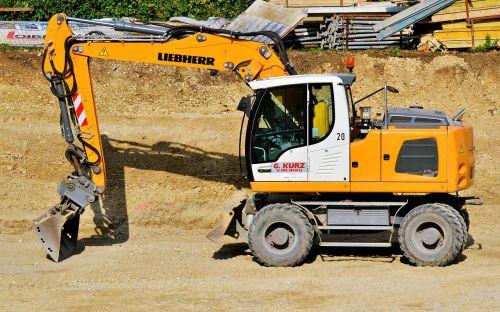 excavators construction machine shovel