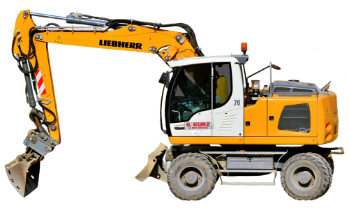 excavators site blade