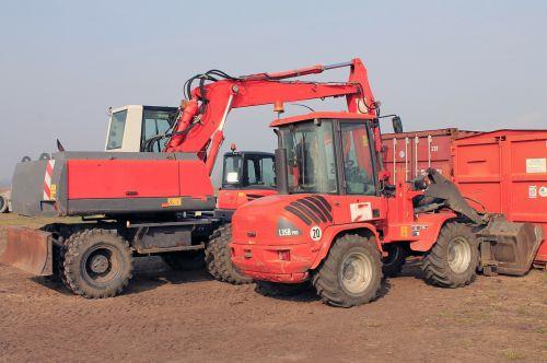 excavators construction abbruchzange backhoe bucket