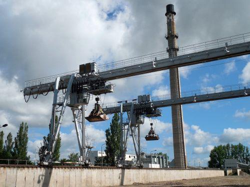 excavators crane industry