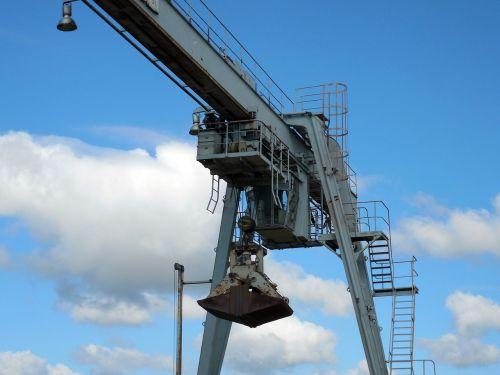 excavators crane gripper