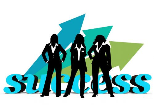executive businesswoman women's power