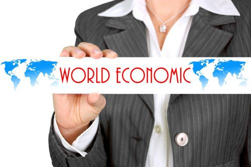 executive world economy businesswoman