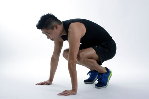 exercise squatting fitness