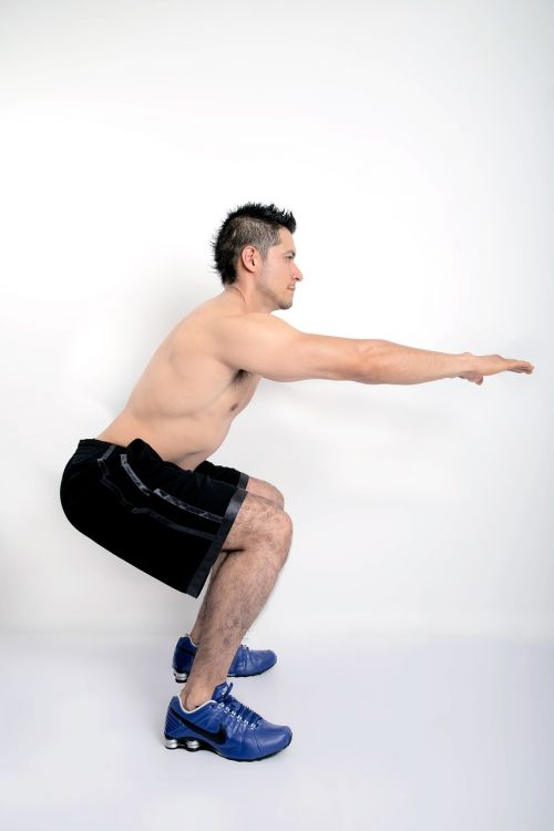 exercise fitness man