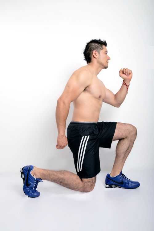 exercise fitness lunges