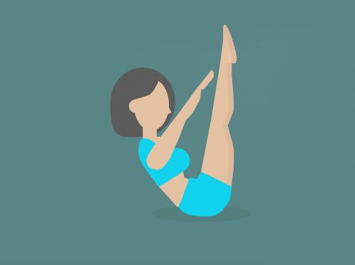 exercise toe touches healthy