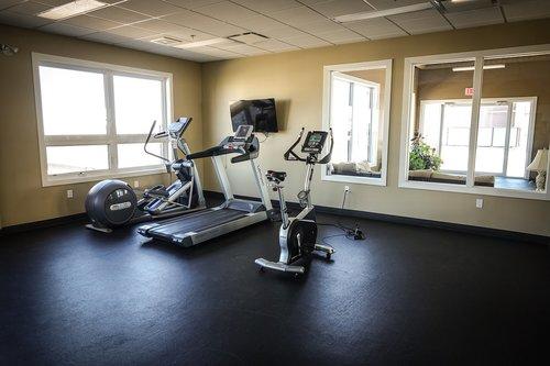 exercise  treadmill  stationary bike
