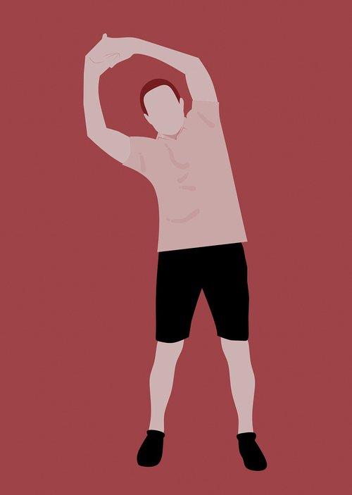 exercise  fitness  white background