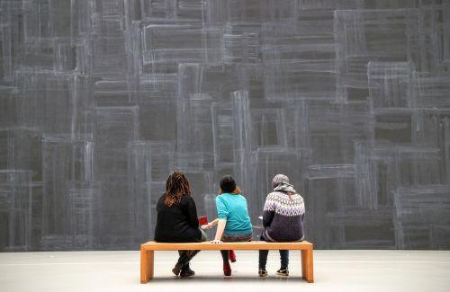 exhibition visitors visit