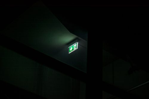 exit sign emergency