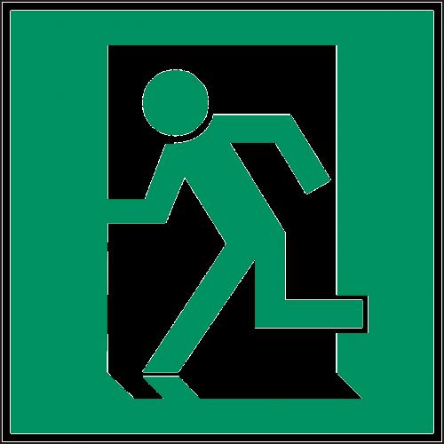 exit emergency exit door