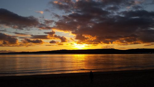 exmouth sunset coastal