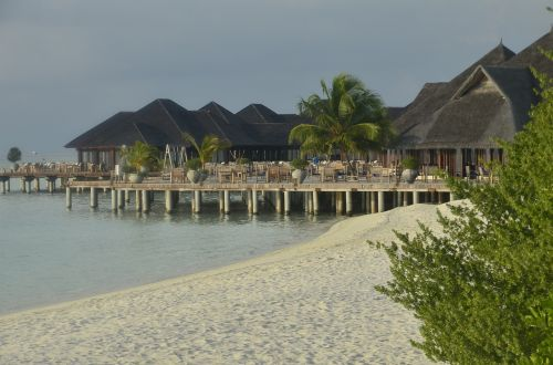 exotic white sands beach