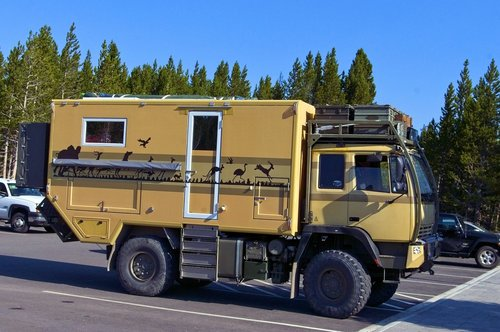 expedition camping vehicle  camper  expedition