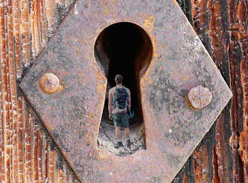 exploration adventure lock