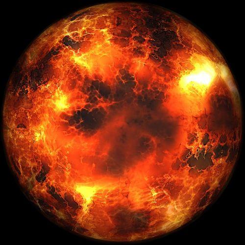 explosion fireball fire