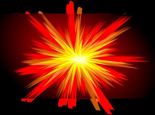 explosion boom the eruption