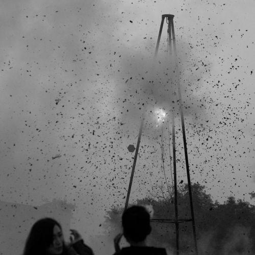explosion fire smoke
