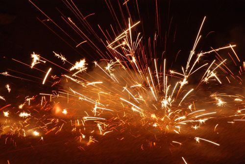 explosion fire firecracker