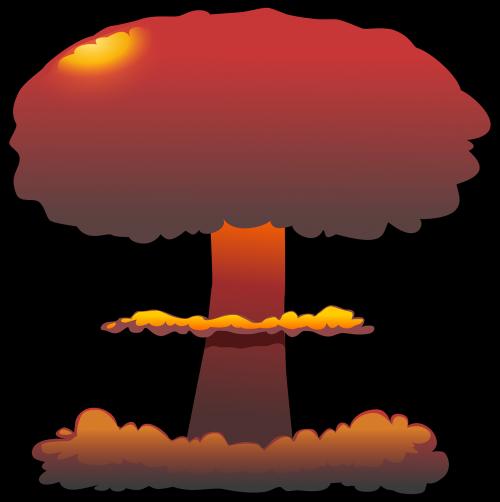 explosion nuclear cloud