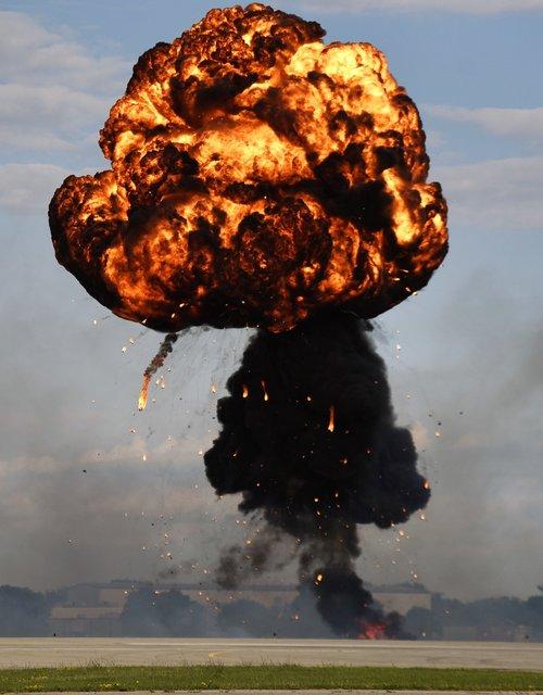 explosion  fireball  disaster
