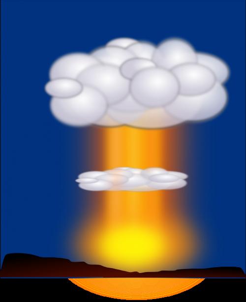 explosion bomb atomic