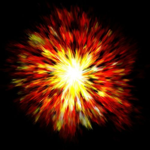 explosion big bang pop