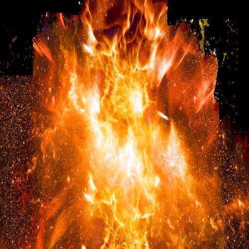explosive fire bomb