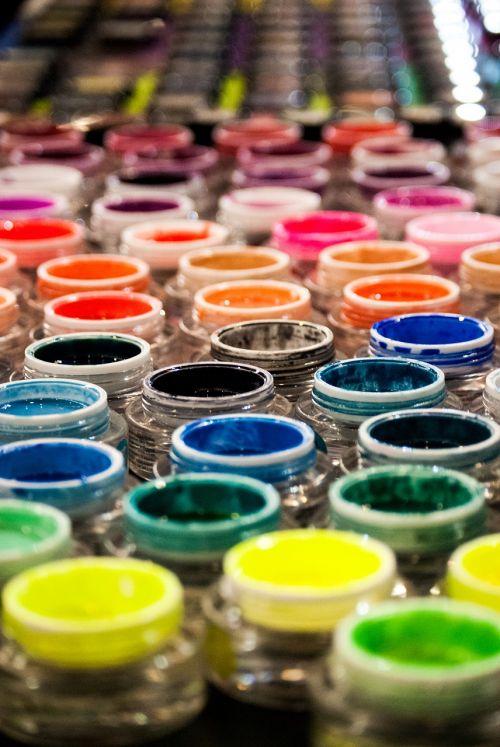 expocosmética nail gel colors