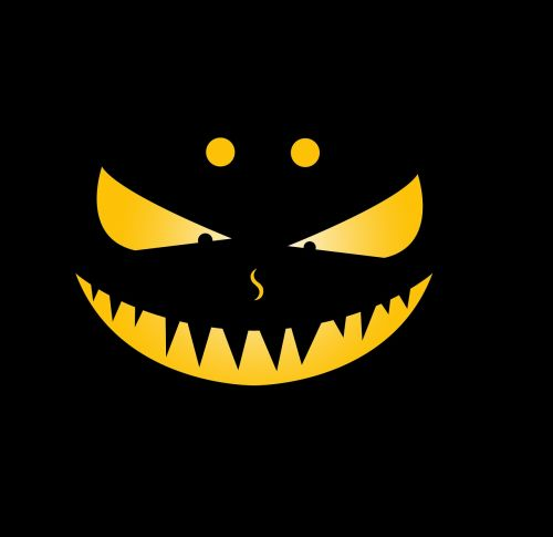 expression evil teeth