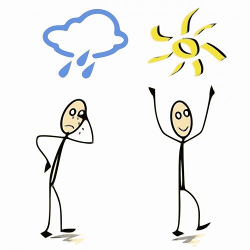 expressions françaises happy rain
