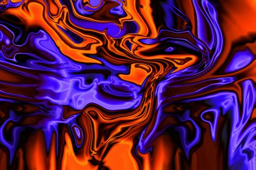 Expressive Aggressive Marbling Flow