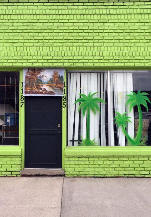 exterior palm shop