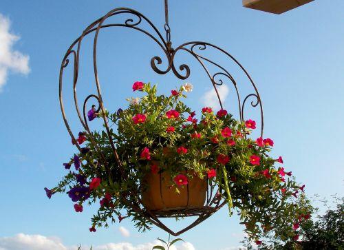 exterior decoration decoration hanging basket