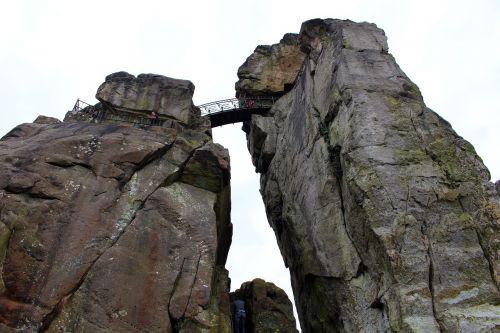 externsteine teutoburg forest rock
