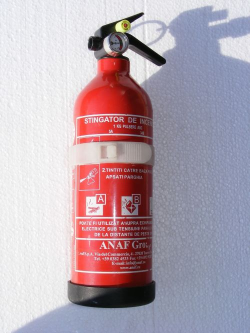 extinguisher fire powder