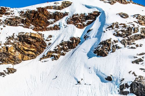 extreme skiing steep skiing skiing