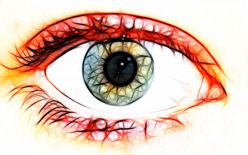 eye pupil vision